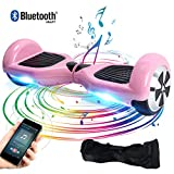 BEBK 6.5' Smart Self Balance Scooter con Bluetooth, Overboard con LED...