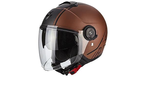 Scorpion Exo City Avenue Motorcycle Helmet Matte Brown Auto