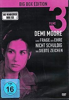 DEMI MOORE Eine Frage der Ehre + Nicht schuldig + Das siebte 7. Zeichen BIG BOX 3 DVD Edition