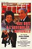 Une nuit à l'Assemblée Nationale Plakat Movie Poster (27 x 40 Inches - 69cm x 102cm) (1988) Belgian