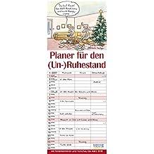 Planer für den (Un-)Ruhestand 2017: Familientimer mit Ferienterminen und Vorschau bis März 2018