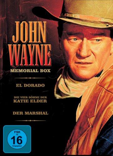 Bild von John Wayne Memorial-Box [3 DVDs]