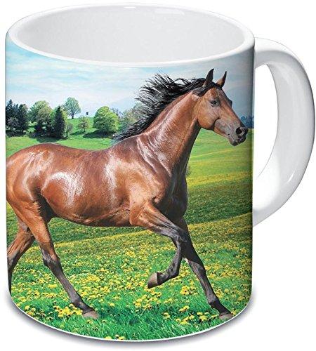 Lot de 2 mugs Cheval en...