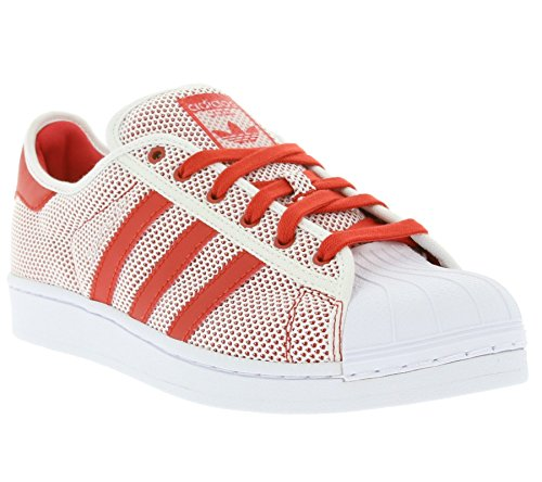 adidas - Superstar, Scarpe da ginnastica Donna Rosso