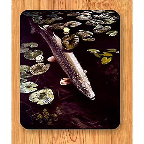 Fish Northern pike MOUSE PAD