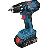 Bosch Professional Visseuse sans-Fil GSR 18-2 LI (2 Batteries 1,5 Ah, Chargeur, L-BOXX, 18 V, Couple Maxi : 38 Nm, Ø de Vissage Maxi : 7 Mm)