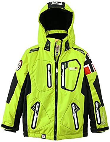Geographical Norway Winner Veste de ski Garçon Vert FR :