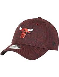 New Era 39Thirty Cap - SPACE DYE Chicago Bulls rubis