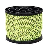 perfk 4mm * 50m leuchtend reflektierend Abspannseile Seil für Camping Wandern Zelt