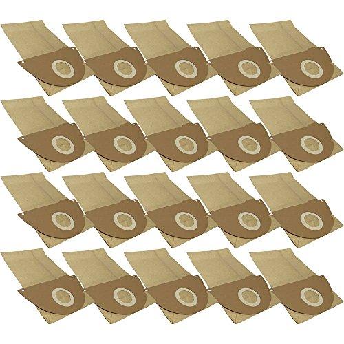 20 Staubsaugerbeutel aus hochfestem Papier passend für Kärcher 4000 Plus