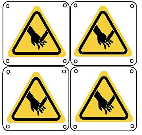 Warn- und Hinweisschilder 50x50mm