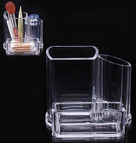 Fami Trucco libero acrilico organizzatore cosmetico del rossetto spazzola supporto