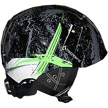 red TecnoPro Jugend Erwachsenen Ski-Helm Skihelm XT IS8 Team black