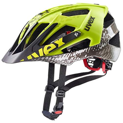 Uvex Unisex- Erwachsene Quatro Fahrradhelm, Gelb, 56-60