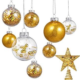 24-Stcke-236-Zoll-Bruchsicher-Kunststoff-Weihnachten-Ball-Ornamente-Baum-Kugeln-mit-Einem-Weihnachtsbaum-Stern-fr-Weihnachten-Neujahr-Geschenk-Hochzeit-Haus-Urlaub-Party-Dekoration