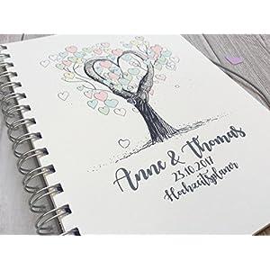 Hochzeitsplaner PERSONALISIERT Tree of Love
