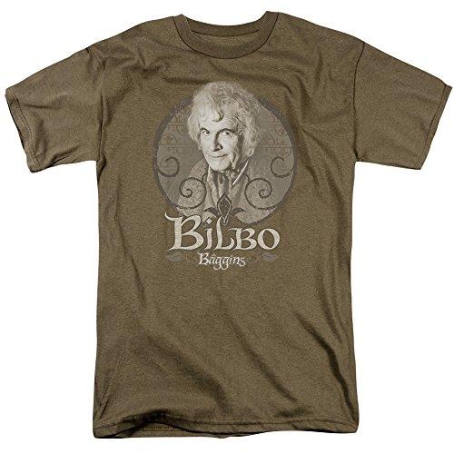 Trevco Herren T-Shirt Herr der Ringe, kurzärmelig - Grün - X-Groß