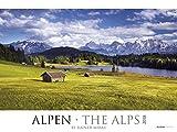 Alpen 2018 - The Alps - Bildkalender XXL (64 x 48) - Landschaftskalender - Naturkalender: by Rainer Mirau - Rainer Mirau