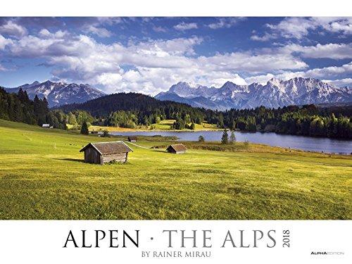 Alpen 2018 - The Alps - Bildkalender XXL: Landschaftskalender - Naturkalender