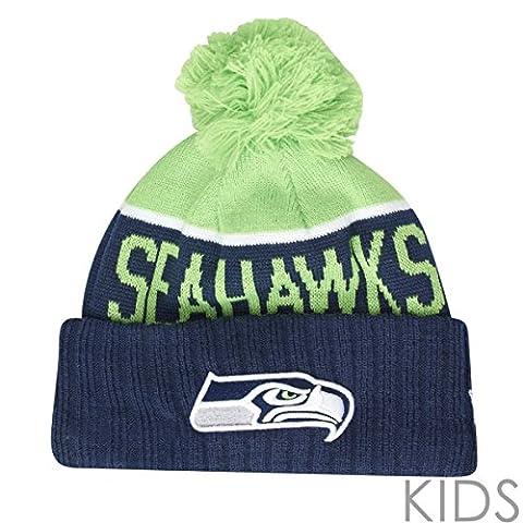New Era NFL SIDELINE Enfants Beanie - Seattle Seahawks
