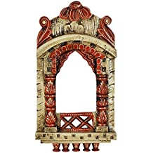 Handcrafted Vintage Decorative Picture Fame Wooden Jharokha 16 X 9 Inches