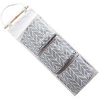 H/ängeorganizer Wand H/ängenden COLORFUL 6 Pocket Hanging Handtasche Handtasche Tasche Tidy Organizer Lagerung Kleiderschrank Kleiderb/ügel BK