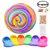 Swallowzy Fluffy Slime Kit - 12 onzas Fluffy Floam Slime Putty con...