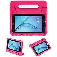 LEADSTAR Samsung Galaxy Tab E 7.0 Lite Ligero y Super Protective Antichoque EVA Funda Diseñar Especialmente para los Niños para Samsung Tab 3 7.0 Lite T110 T111 & Tab E 7.0 Lite T113 - Rosa