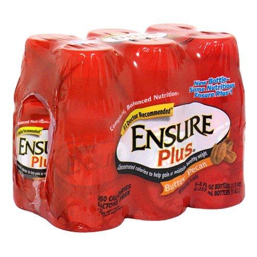 ensure-plus-complete-balanced-nutrition-drink-butter-pecan-six-8-fluid-ounces-bottles-by-ensure