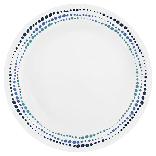 Corelle Livingware Ocean Blues 26cm Speiseteller weiß / blau Ocean Blue Teller