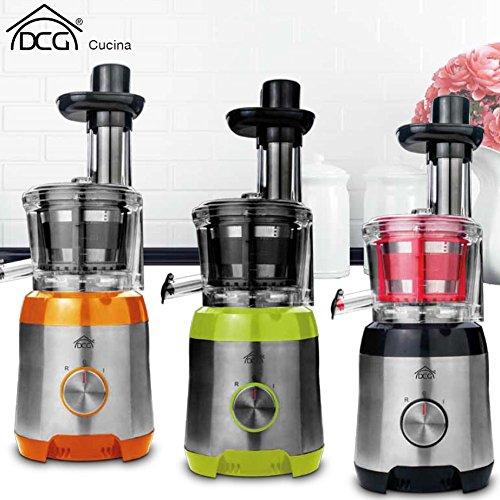 Estrattore Di Succo Frutta Verdura Polpa 300 W Centrifuga DCG Eltronic AE2135 Colori Assortiti