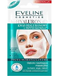 EVELINE Cosmetics Bio Hyaluron Set of 3 Deeply Moisturizing Anti-Wrinkle Face Masks 3 x 7ml Marute Skin