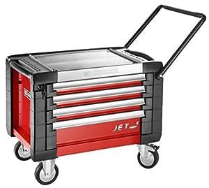 Coffre roulant Rouge 4 tiroirs Facom JET.CR4M3PB
