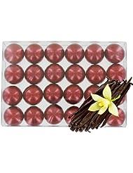 Boîte de 24 perles d'huile de bain - Vanille nacré