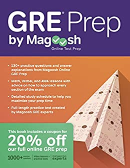 GRE Prep by Magoosh by [Magoosh, Lele, Chris, McGarry, Mike]