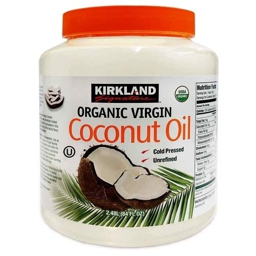 Bio Premium Virgin Coconut Oil (Bio Kokosöl - Kirkland Signature Organic Virgin Coconut Oil 2.78Kg)