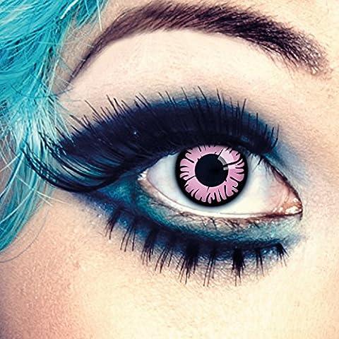 Couleur des lentilles de contact Daisy de aricona – années couvrant la lentille à terme pour les yeux sombres et claires- sans correction- les lentilles colorées pour le carnaval- des soirées à thème et des costumes d'Halloween
