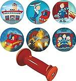 Haba 302883 Taschenlampen-Projektor Feuerwehr-Einsatz