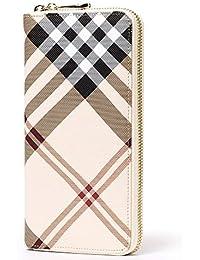2a75f1019a6e2 AIM Dame Lange Retro Geldbörsen Schnalle Brieftaschen Frauen Kartenhalter  Telefon Münze Unterarmtasche Handtasche…