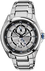 Citizen Analog White Dial Men's Watch - BU3000-55A
