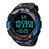 55cd40052602 2018 Nice Design LED Reloj de Pulsera de Cuarzo Digital a Prueba de Agua  Militar Reloj