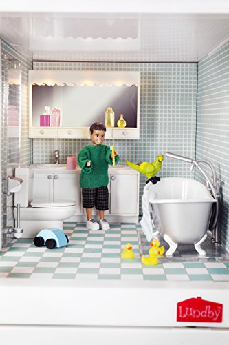 Lundby 60.2053.00 - Smaland: Doccia e vasca da bagno per casa delle bambole
