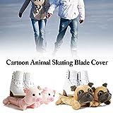 LyhomeO Copri Skate Coperture Skate Blade Protettore per Pattini da Hockey Pattini da Figura E Pattini da Ghiaccio