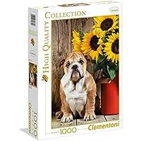 Clementoni 39365 - Puzzle 1000 HQC The Bulldog