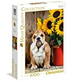 Clementoni - 39365 - High Quality Collection Puzzle - The Bulldog - 1000 Pezzi