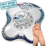 Spazzola Doccia Piedi Spa Corpo Bagno Salute Massaggio Pedicure Facile Scrubber Massaggiatore Setole - IYO - amazon.it
