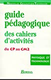 PHYS TECHNO CAHIERS PROF CP/CE