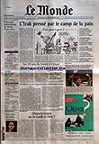 Telecharger Livres MONDE LE No 18066 du 23 02 2003 L AUTORITE PALESTINIENNE EN FAVEUR D UNE TREVE SUPPLEMENT LE MONDE ARGENT GERER SON PLAN D EPARGNE EN ACTIONS PENDANT LA CRISE AGRICULTURE JACQUES CHIRAC AU SALON ANNUEL COLOMBIE INGRID BETANCOURT OTAGE DES FARC DEPUIS UN AN SPORTS BASKET AMERICAIN LES FRANCAIS DE LA NBA SUPPLEMENT EN V O THE NEW YORK TIMES LE MONDE AL QAIDA UN MILITANT ARRETE RACONTE THEATRE FERNAND IVETON MON PERE MON FILS CINEMA CHEI (PDF,EPUB,MOBI) gratuits en Francaise