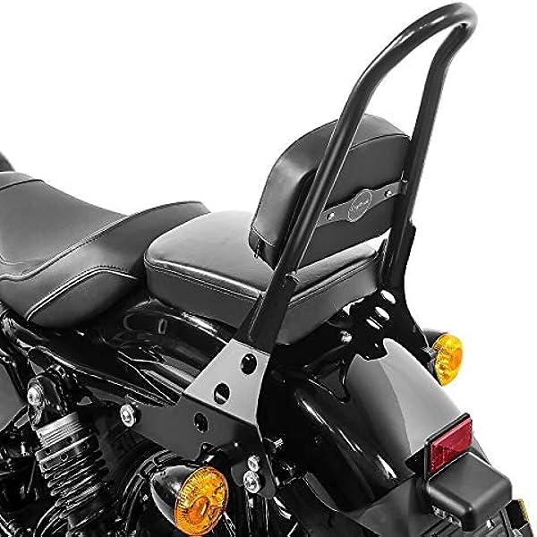 Sissy Bar Abnehmbar Csm Für Harley Sportster Forty Eight 48 10 20 Schwarz Auto