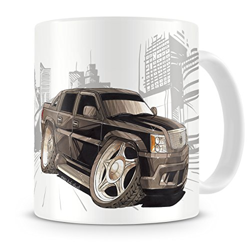 koolart-cartoon-caricature-of-cadillac-escalade-coffee-mug